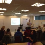 Steve delivering Specialist Trauma Training