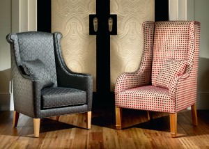 furniture-living-room-vintage-accent-chairs-design-with-two-choices-red-and-black-high-back-chair-from-handmade-custom-as-inspiring-high-back-chair-with-wooden-